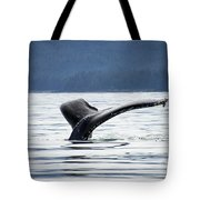 Petersburg Ak Whale Tale 5 Tote Bag