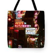 Pete's Kitchen Tote Bag