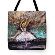 Petite Ballerina Tote Bag