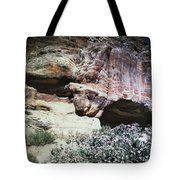 Petra, Transjordan: Cave Tote Bag