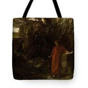 Petrarch By The Fountain Of Vaucluse Tote Bag
