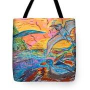 Petrels Tote Bag