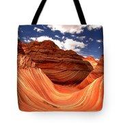 Petrified Dunes Landscape Tote Bag