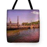 Petrified Sunset Tote Bag
