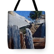 Petrified Wood Tote Bag