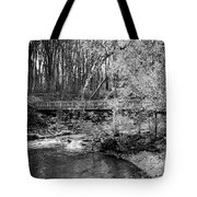 Petrifying Springs Park Bridge  Tote Bag