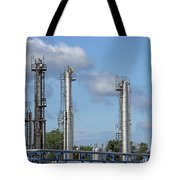 Petrochemical Plant Refinery Industry Zone Tote Bag