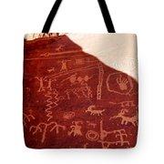 Petroglyphs Tote Bag