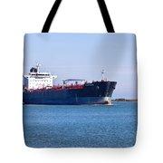 Petroleum Tanker En Route Tote Bag