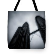 Petronas Towers Tote Bag