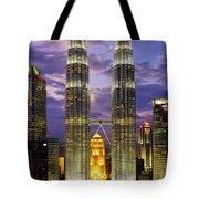 Petronas Towers Tote Bag