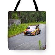 Petter Solberg/chris Patterson Tote Bag