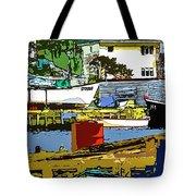 Petty Harbor Tote Bag
