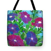 Petunias Tote Bag