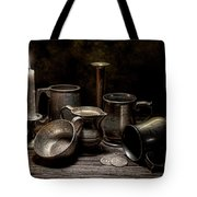 Pewter Still Life II Tote Bag by Tom Mc Nemar