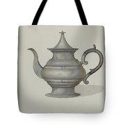 Pewter Teapot Tote Bag