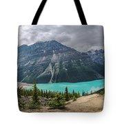 Peyto Lake Banff Tote Bag
