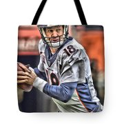 Peyton Manning Art 1 Tote Bag