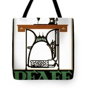 Pfaff Vintage Advertising Poster Restored Tote Bag