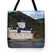 Pfalz Castle Tote Bag