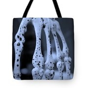 Phalanges In Monotone Tote Bag