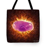 Phantom Amethyst Gemstone  Tote Bag