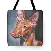Pharaoh Hound Tote Bag by Lee Ann Shepard