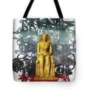 Pharaoh Of Egypt Tote Bag