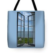 Phare Fenetre Lighthouse Window Tote Bag
