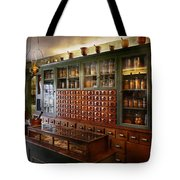 Pharmacy - I'll Be Out In A Minute  Tote Bag