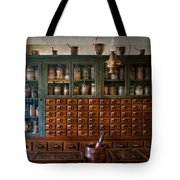 Pharmacy - Right Behind The Counter Tote Bag