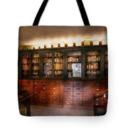 Pharmacy - The Apothecary Shop Tote Bag