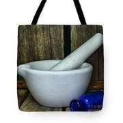 Pharmacy - Mortar And Pestle - Square Tote Bag