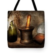 Pharmacy - Pestle - Home Remedies Tote Bag