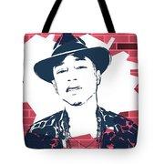 Pharrell Graffiti Tribute Tote Bag