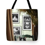 Phat Cat Tote Bag