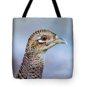 Pheasant Hen Tote Bag