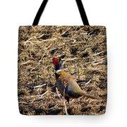Pheasant On The Move Tote Bag