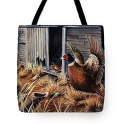 Pheasant Open House Tote Bag