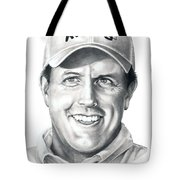 Phil Michelson  Tote Bag