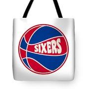Philadelphia 76ers Retro Shirt Tote Bag