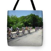 Philadelphia Bike Race - Manayunk Avenue Tote Bag