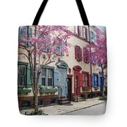 Philadelphia Blossoming In The Spring Tote Bag