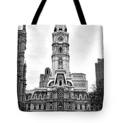 Philadelphia City Hall Building On Broad Street Tote Bag