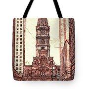 Philadelphia City Hall - Pencil Tote Bag