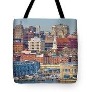 Philadelphia - From The Ben Franklin Bridge Tote Bag