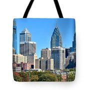 Philadelphia In Tight Tote Bag