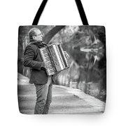 Philadelphia Music Man Bnw Tote Bag