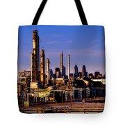 Philadelphia Oil Refinery  Tote Bag