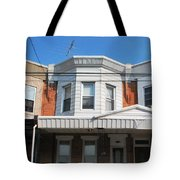 Philadelphia Row Houses Tote Bag